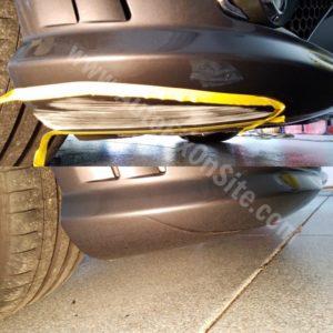 mercedes bumper